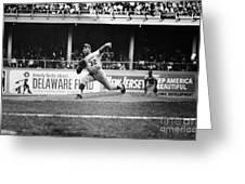 SANDY KOUFAX (1935- ) Greeting Card by Granger
