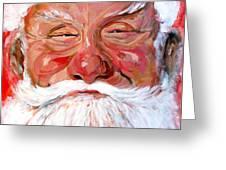 Santa Claus Greeting Card by Tom Roderick