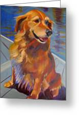 Sasha Greeting Card by Kaytee Esser