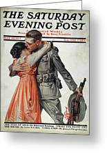Saturday Evening Post Greeting Card by Granger