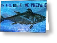 Save the Gulf America 2 Greeting Card by Paul Gaj