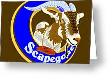 Scapegoat for Hire Greeting Card by Laura Brightwood