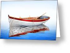 Scarlet Reflections Greeting Card by Horacio Cardozo