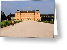 Schwetzingen Castle Greeting Card by Deborah  Crew-Johnson