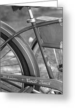 Schwinn Cycle Truck Greeting Card by Lauri Novak