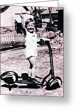 Scooter 1941 Greeting Card by Don Wolf