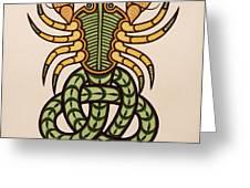 Scorpio Greeting Card by Ian Herriott