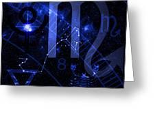 Scorpio Greeting Card by JP Rhea