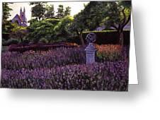 Sculpture Garden Greeting Card by David Lloyd Glover