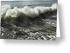 Sea Waves1 Greeting Card by Svetlana Sewell
