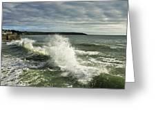 Sea Waves2 Greeting Card by Svetlana Sewell