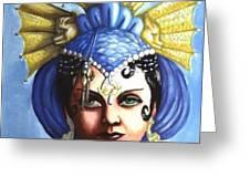 Sea Witch Greeting Card by Scarlett Royal
