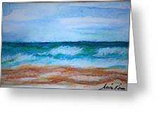 Seascape I Greeting Card by Neva Rossi