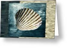 Seashell Souvenir Greeting Card by Lourry Legarde