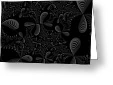 Seashells Greeting Card by Candice Danielle Hughes