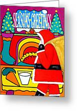 Seasons Greetings 16 Greeting Card by Patrick J Murphy
