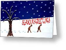 Seasons Greetings 3 Greeting Card by Patrick J Murphy