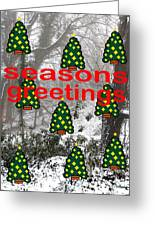 Seasons Greetings 8 Greeting Card by Patrick J Murphy
