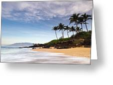 Secret Beach Maui Sunrise Greeting Card by Dustin K Ryan