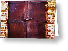 Secret Door Greeting Card by Cheryl Young