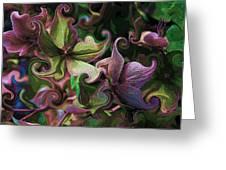 Secret Garden Greeting Card by Barbara  White