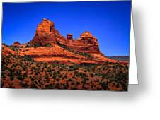 Sedona Rock Formations Greeting Card by David Patterson