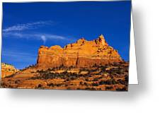 Sedona Smoke Signals Greeting Card by Mike  Dawson