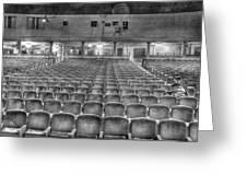 Senate Theatre Seating Detroit Mi Greeting Card by Nicholas  Grunas