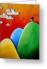 Send In The Clouds Greeting Card by Cindy Thornton