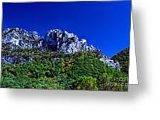 Seneca Rocks National Recreational Area Greeting Card by Thomas R Fletcher