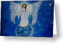 Seraphina Greeting Card by The Art With A Heart By Charlotte Phillips