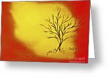 Serenity Greeting Card by Joseph Palotas