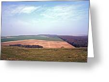 Seven Sisters Country Park Greeting Card by Nigel Goddard