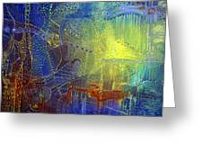 Shadow of the Dream III Greeting Card by Lolita Bronzini
