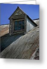 Shadows Reflections And Lines Greeting Card by Murray Bloom