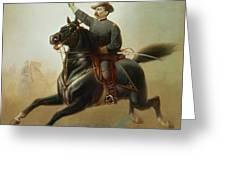 Sheridan's Ride Greeting Card by Thomas Buchanan Read