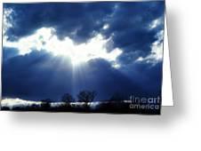 Shining Glory Greeting Card by Thomas R Fletcher