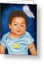 Shining Star Greeting Card by Joni McPherson