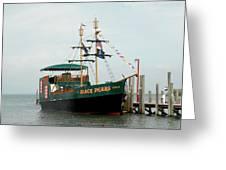 Ship 16 Greeting Card by Joyce StJames