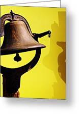 Ship's Bell Greeting Card by Rebecca Sherman