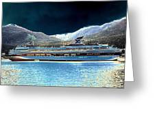 Shipshape 10 Greeting Card by Will Borden