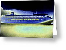 Shipshape 7 Greeting Card by Will Borden
