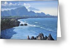 Shipwreck Beach Greeting Card by Ian Henderson