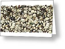 Shore Stones 3 Greeting Card by JQ Licensing