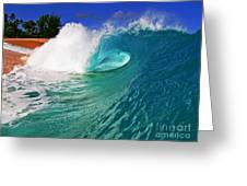 Shorebreaker Greeting Card by Paul Topp
