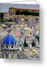 Sicily Greeting Card by Sorin Ghencea