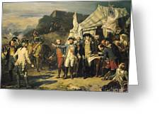 Siege Of Yorktown Greeting Card by Louis Charles Auguste  Couder