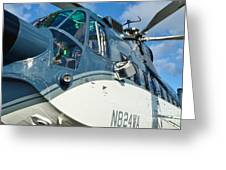 Sikorsky S-61n Greeting Card by Lynda Dawson-Youngclaus