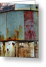 Silo Series 1 Greeting Card by Skip Hunt