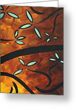 Simply Glorious 3 By Madart Greeting Card by Megan Duncanson